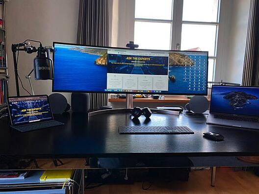 Home Office Arbeitsplatz Dreher Consulting